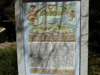 Las Pesquerías Reales - Senderismo Segovia (Ruta de las Pesquerías Reales); grupos de turismo
